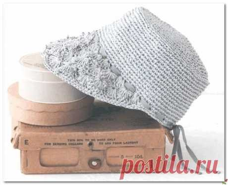Шляпка-кепка крючком Шляпка-кепка крючкомШляпка-кепка крючком одновременно спортивна и романтична.Ее можно отнести к стилю спортивный шик.