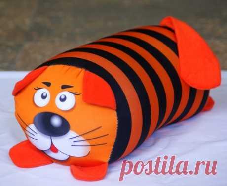 Тигры, Коты из ткани своими руками! Выкройки и шаблоны на Новый год 2022