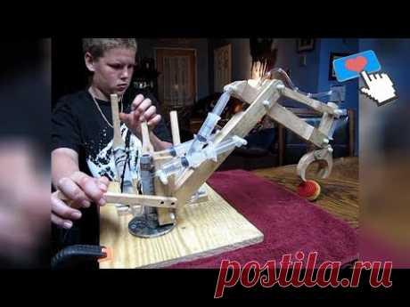 Самоделки, Изобретения и Удивительная Техника ☯ 15 ☯ Amazing homemade inventions ☯ Made By Hands - YouTube