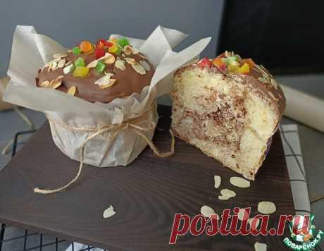 Пасхальный кулич с шоколадом – кулинарный рецепт