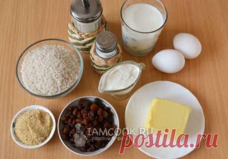 Рисовая запеканка как в детском саду — рецепт с фото пошагово