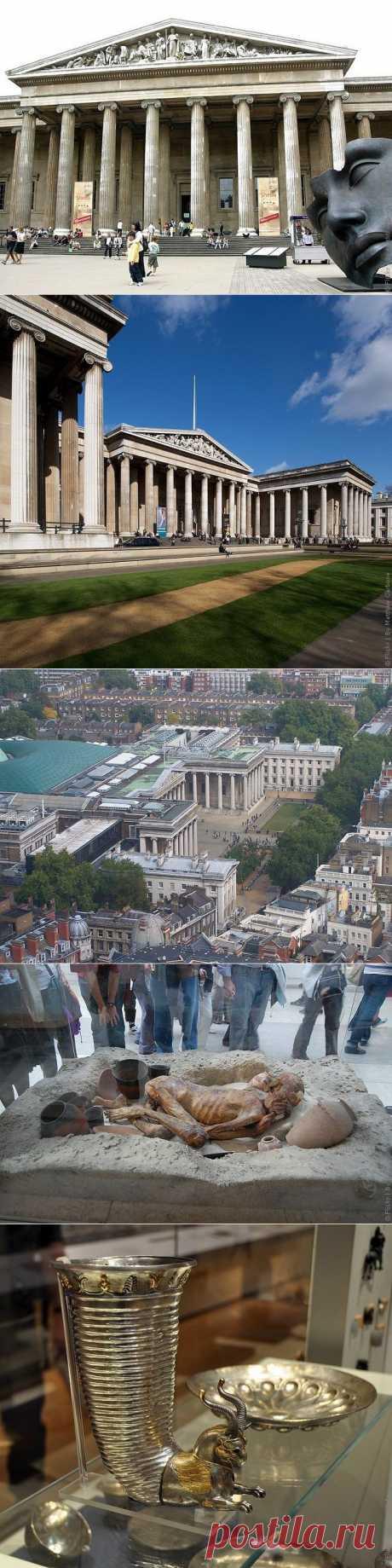Британский музей в Лондоне, фото, библиотека и экспонаты музея