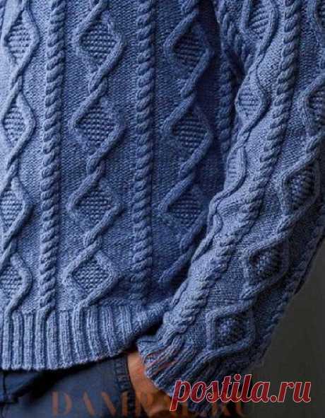 Мужской пуловер «Hank» | DAMские PALьчики. ru