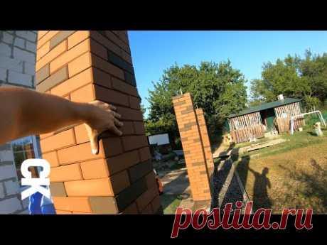 Brick Columns / Быстровозводимые колонны из кирпича ЛЕГО