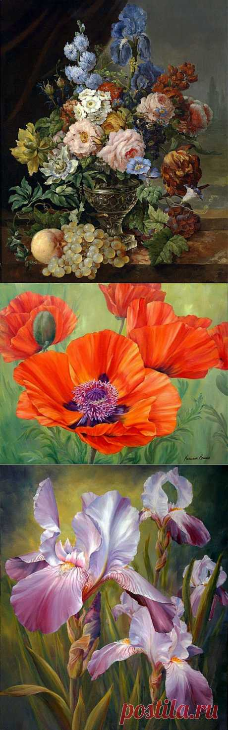 Цветы(часть 1) / Картинки для декупажа / PassionForum - мастер-классы по рукоделию