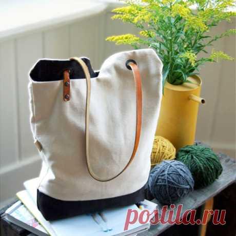 Как сшить сумку-мешок