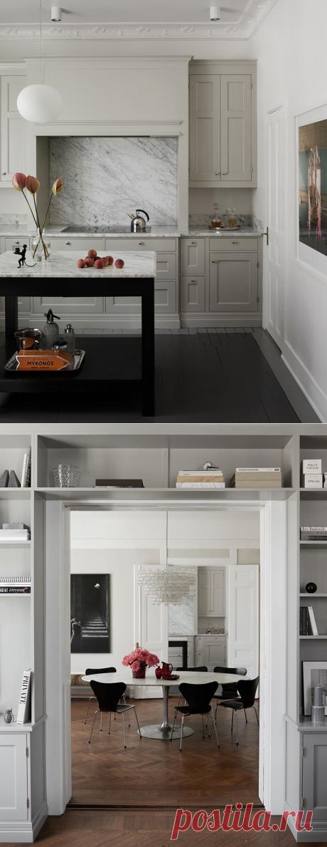 Скандинавский интерьер с нотками ретро - Дизайн интерьеров | Идеи вашего дома | Lodgers