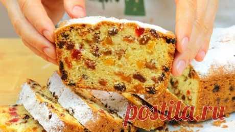 Ідеальний варіант випічки на швидку руку — ароматний кекс із сухофруктами на різдвяні свята • журнал Коліжанка