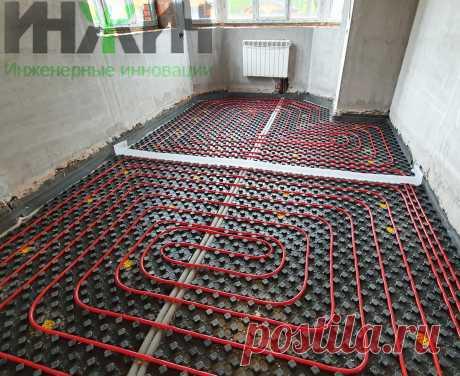 Монтаж отопления в доме из кирпича, фото 792