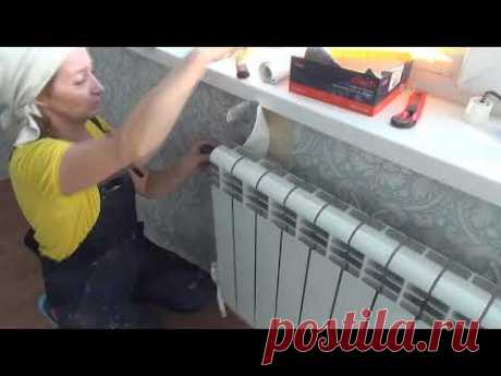 Professional pokleyka of wall-paper