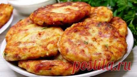 Нежные и хрустящие картофельные шницели — Кухня гурмана