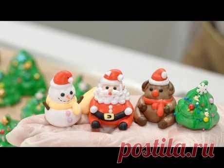 Chrisrmas Meringue Cookies 크리스마스 머랭쿠키 만들기ㅣSUGAR BEAN