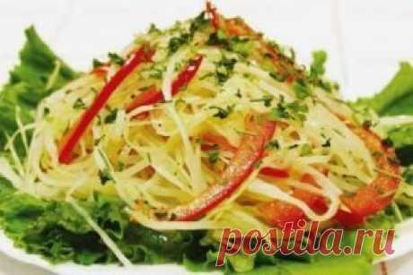 Рецепт салата из белокочанной капусты | Я тебя съем | Яндекс Дзен