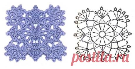 ТОП-30 мотивов крючком со схемами. Делюсь своей коллекцией. | DIY Hand-Made | Яндекс Дзен