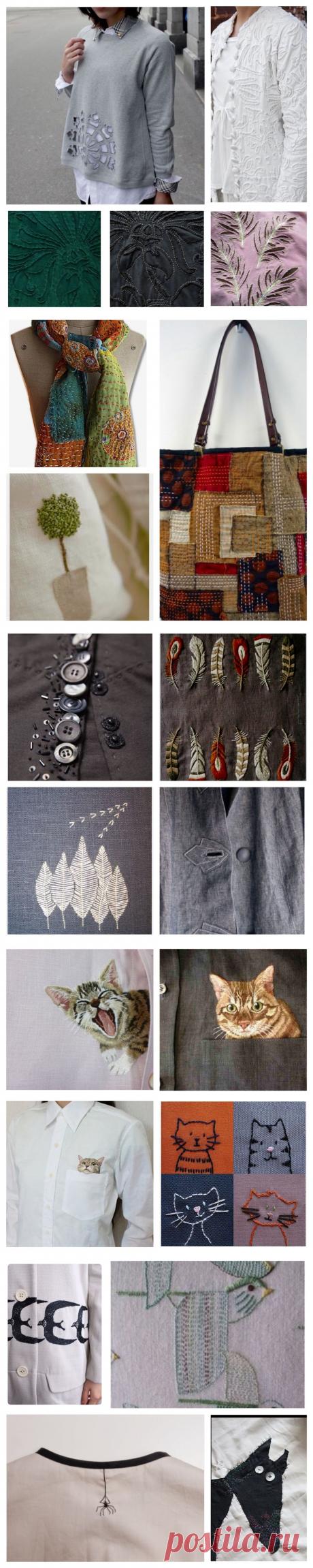 Детали решают все, или Превращаем обычную одежду в арт-объект