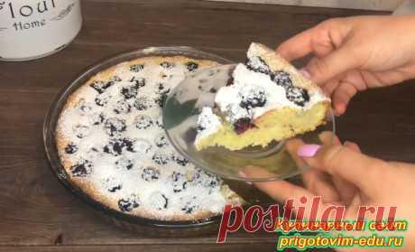 Ягодный пирог с ежевикой | Простые пошаговые фото рецепты | Яндекс Дзен