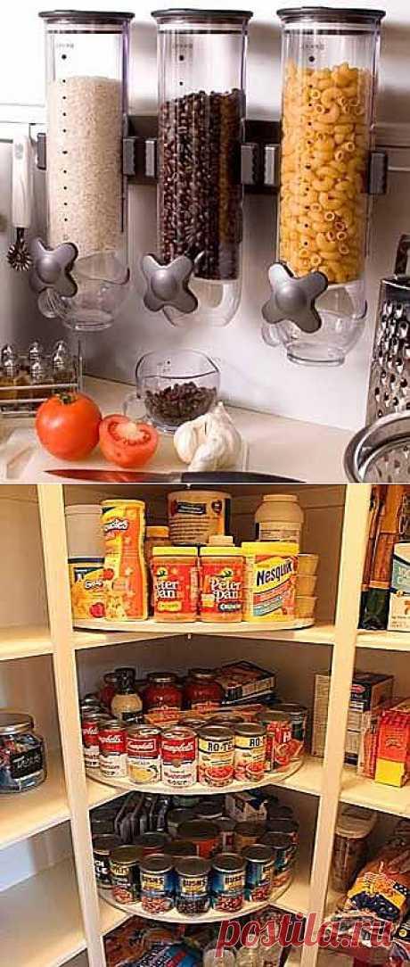 Наводим порядок на кухне: 14 идей для хранения продуктов - Учимся Делать Все Сами