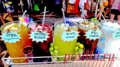 Разновидности безалкогольных напитков Тайланда