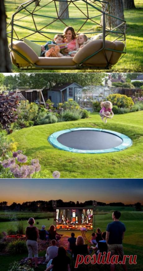 20 удивительных вещей, о которых мечтают все владельцы земельных участков! И пусть все соседи завидуют… — Дом и Сад