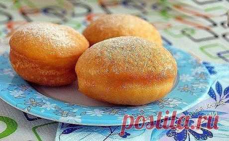 Самые вкусные пончики.