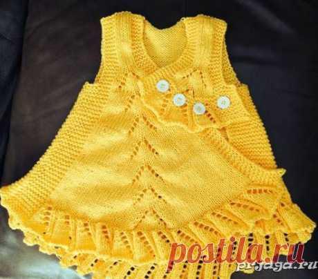 Платье оригинальное и необычное.