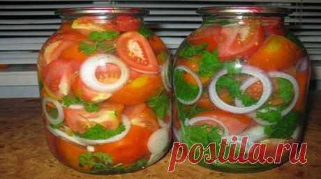 Вкуснейшая консервация помидоров с петрушкой на зиму - Очень вкусно