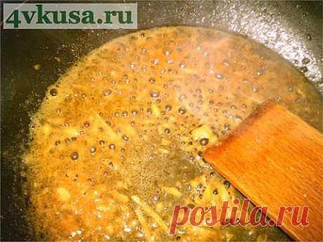Имбирный пикантный соус за 3 минуты | 4vkusa.ru