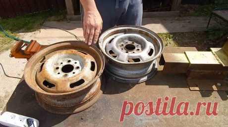 Идея для дачи: печь для казана из дисков авто Сделать печь для казана — это не очень трудоемкая и не особо затратная работа. В качестве основного материала мастер использует колесные диски.Если у вас