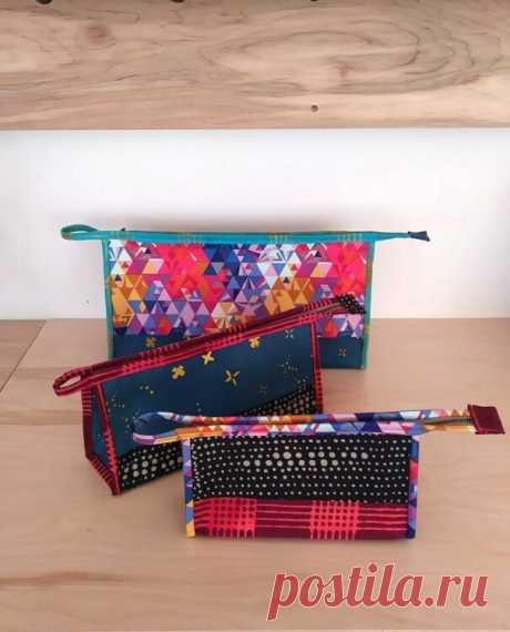 Косметичка Kinley Pouch с рисунком - Шить современные сумки