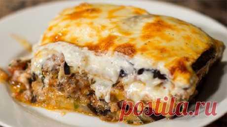 Мусака – греческая запеканка. Летнее блюдо, которое никогда не наскучит!