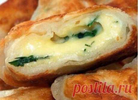 Кефирные конвертики с сыром #лакто_вегетарианство@just_veg