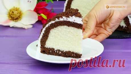 Необычный, обалденный турецкий торт Кюмбет Паста с кокосом _ Больше рецептов в г