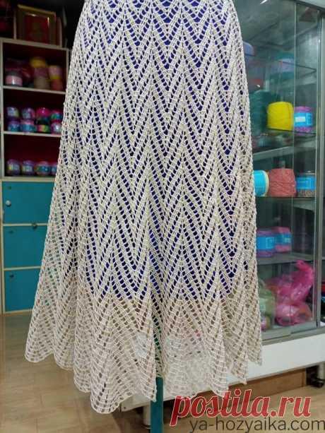 Вязание крючком летних юбок схемы. Юбки крючком из японских журналов