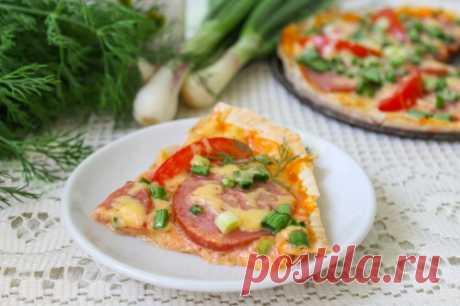 ¡Ekonom la pizza en lavashe - rápidamente y es muy sabroso!