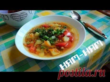 Мой любимый супчик (Чечевичный суп с картошкой и цветной капустой) Сытый веган