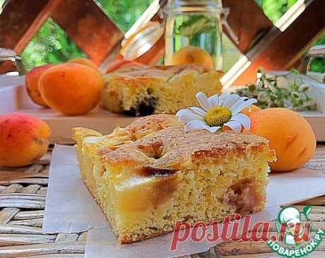 Пирог с сезонными фруктами – кулинарный рецепт