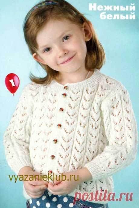 Жакет для девочки 3 лет - Для детей до 3 лет - Каталог файлов - Вязание для детей