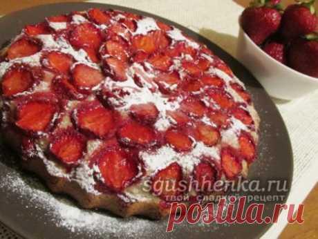 Итальянский клубничный торт - рецепт с фото