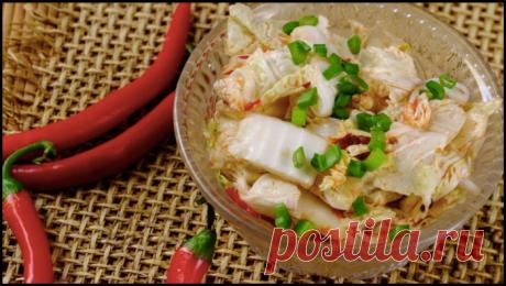 """Корейская капуста """"Кимчи"""" - делаем дома из простых ингредиентов!"""