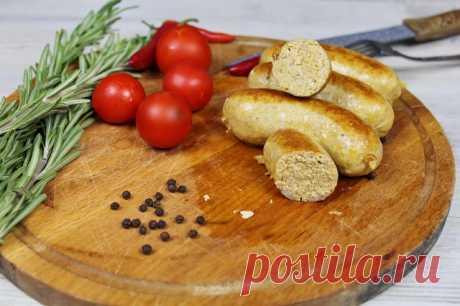 Куриные Колбаски с сыром. — Кулинарная книга