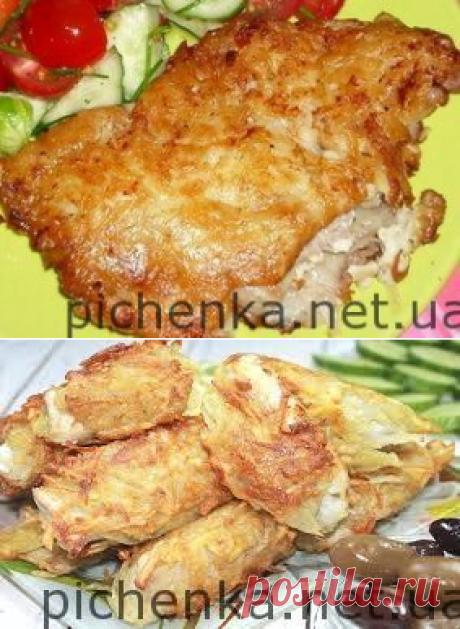 Рыба в картофельной шубке   Вкусные рецепты