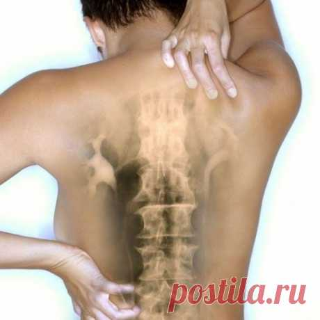 Самомассаж при остеохондрозе.