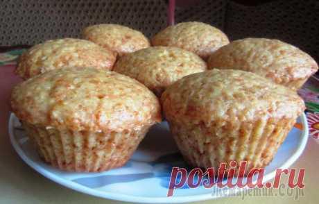 Постные апельсиновые кексы В дни великого поста разнообразим наш стол постной выпечкой и приготовим постные апельсиновые кексы.