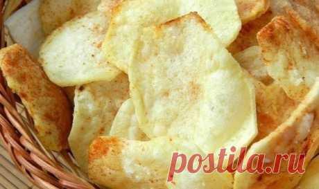 Как приготовить как приготовить чипсы в микроволновке. - рецепт, ингредиенты и фотографии