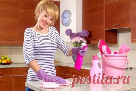 Как быстро навести порядок на кухне?