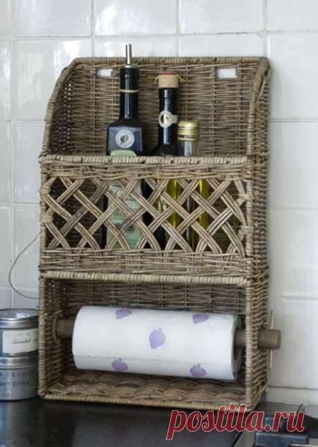 Rivièra Maison | плетение из газетных трубочек