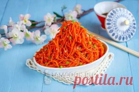 Морковча — пошаговый рецепт с фото и видео. Как приготовить корейский салат Морковча в домашних условиях?