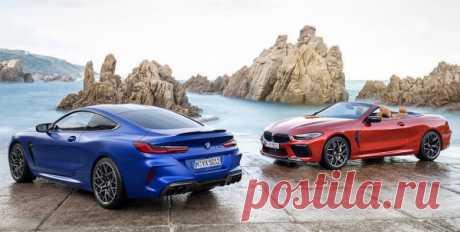 BMW M8 2019 в четырех версиях  - цена, фото, технические характеристики, авто новинки 2018-2019 года