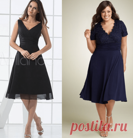 Выкройка платья. Схемы размеров 36-56 (Шитье и крой) — Журнал Вдохновение Рукодельницы