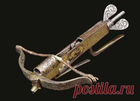 Арбалет-малютка, запрещенный в эпоху Ренессанса | История оружия | Яндекс Дзен